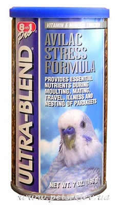 Ultra-Blend for Parakeets Avilac Stress Formula