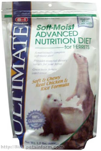 Soft-Moist Nutrition Diet for Ferrets